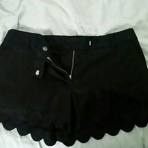 J. Crew Scalloped Shorts